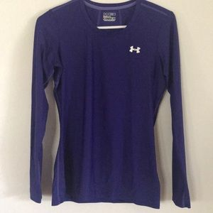 UNDER ARMOUR  women's fitted shirt. Sz M